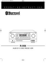 Buy Sherwood R956 Operating Guide by download Mauritron #316260