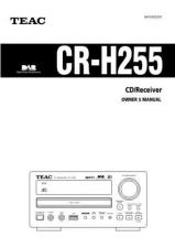 Buy Teac CRH257iE Operating Guide by download Mauritron #318506