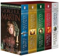 Buy George R. R. Martin's A Game of Thrones 5-Book Boxed Set NEW