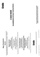Buy Creda C460 Operating Guide by download Mauritron #312825