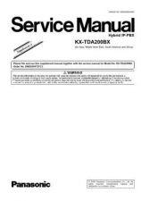 Buy Sharp KX-TDA200BX Manual by download Mauritron #298469