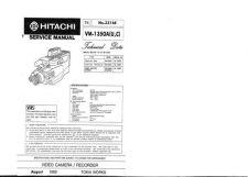 Buy Hitachi VM-E21E-UK Service Manual by download Mauritron #286817
