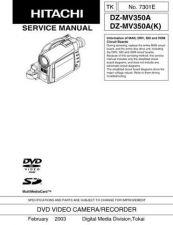Buy Hitachi DZMV380E Service Manual by download Mauritron #285322