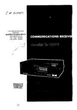 Buy TRIO. R2000. RECEIVER. OPERATING GUIDE. by download Mauritron #321675