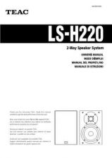 Buy Teac LS-H300EF Operating Guide by download Mauritron #318850