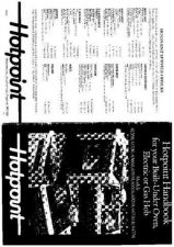 Buy Hotpoint HB61330(3) Operating Guide by download Mauritron #312012