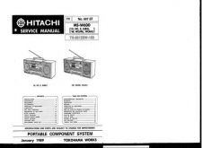 Buy Hitachi MSW600 Service Manual by download Mauritron #290499