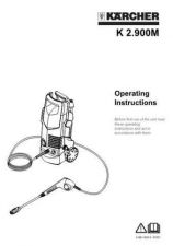 Buy Karcher k2900 Washer Operating Guide by download Mauritron #315579