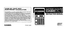 Buy Casio AL-8 by download Mauritron #327317