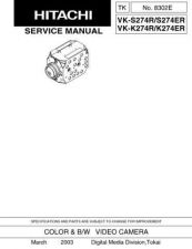 Buy Hitachi VKC370W Service Manual by download Mauritron #290932