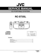 Buy JVC RC-ST3SL Service Manual by download Mauritron #283066