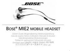 Buy Bose AM327410 02 MIE2 Headset OG ENGvo tcm6 31528 by download #333253