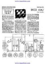 Buy EKCO. U243. Equipment. Service Information. by download Mauritron #325548