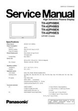 Buy Panasonic TH-42PH9ES Manual by download Mauritron #302364