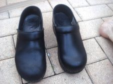 Buy Dansko Professional Clogs 37 7 M Black Stapled Pre-owned, NO SOLE R DRYING 7 M