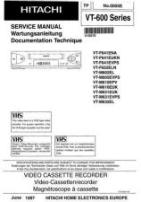 Buy Hitachi VT2005A Service Manual by download Mauritron #287026