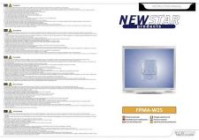 Buy Newstar FPMA W25 Audio Visual Instructions by download #333550