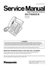 Buy Panasonic KX-P5635-5645 Manual by download Mauritron #299555
