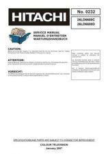 Buy Hitachi 26LD6600C Service Manual by download Mauritron #287631