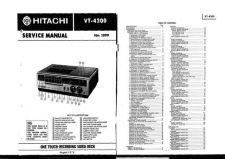 Buy Hitachi VTF350EUKN_EN Service Manual by download Mauritron #287172