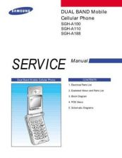 Buy Samsung SGH-A110 Mobile Phone Service Manual by download Mauritron #306274