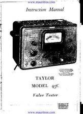 Buy TAYLOR 45C. . by download Mauritron #312278