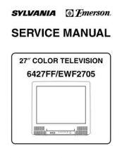 Buy Emerson 6427FF EWF2705 Service Manual by download Mauritron #330546