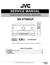 Buy JVC RX-V7000UF Service Manual by download Mauritron #276596