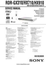 Buy Sony RDRHX910 Manual by download Mauritron #328934