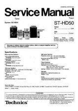 Buy Sharp ST-HD50 Manual by download Mauritron #298578