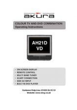 Buy Akura AH21DVD-IB Service Manual by download Mauritron #330272