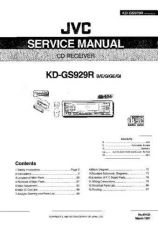 Buy JVC KD-GS920 Service Manual by download Mauritron #282023