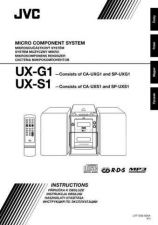 Buy JVC UX-G1-3 Service Manual by download Mauritron #277068