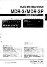 Buy Yamaha MDR3 Service Manual by download Mauritron #337981