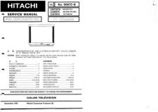 Buy Hitachi C29-F800S-SN-SNT Service Manual by download Mauritron #288676