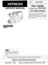 Buy Hitachi VM-7380E Service Manual by download Mauritron #285578