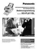 Buy Panasonic FL611SL_1 Manual by download Mauritron #299250