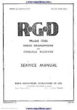 Buy RGD 1046 Service Manual by download Mauritron #330952