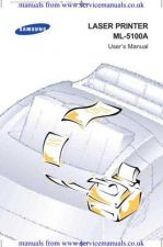 Buy MANUAL Samsung ML5100A User Guide in English by download Mauritron #306105