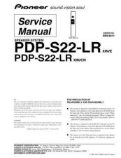 Buy Panasonic PDP-S22-LR Manual by download Mauritron #301218