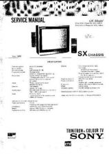 Buy Sony KV32FX20 Service Manual by download Mauritron #333030