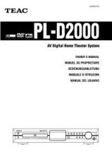 Buy Teac PLD2000 insEF Operating Guide by download Mauritron #319137