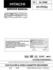 Buy Hitachi DVPF74U Service Manual by download Mauritron #289916