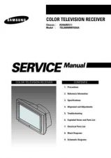Buy Samsung TSL3099WHFX Service Manual by download Mauritron #322635