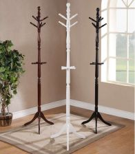 Buy 6 Hooks Cherry Twist Center Stand Hall Tree Solid Wood Coat Hat Rack Hanger NEW