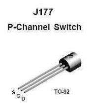 Buy Transistor - J177 P-FET (TO-92) - 7 Pieces