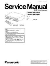 Buy Panasonic DMR-EH80V Manual by download Mauritron #298994