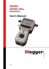 Buy Megger MOM2 Operating Guide by download #336247