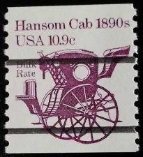 Buy 1982 10.9c Hansom Cab Transportation Coil, Precancelled Scott 1904a Mint F/VF NH