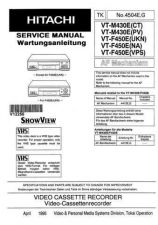 Buy Hitachi VT89A2 Service Manual by download Mauritron #287113